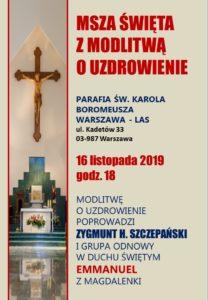 WARSZAWA – 16.XI.2019